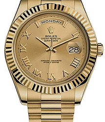 Rolex Day-Date II 41mm Yellow Gold