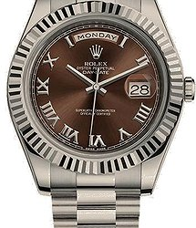 Rolex Day-Date II President 41mm White Gold