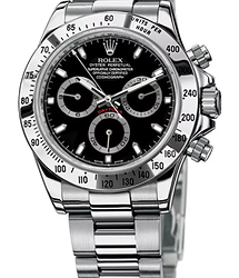 Rolex Daytona Cosmograph 40mm Steel 116520-Black