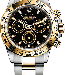 Rolex Daytona Steel and yellow gold 116503 Black