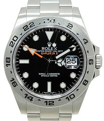 Rolex Explorer Stainless Steel Black Automatic 216570BK