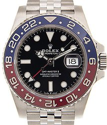 Rolex Gmt-master II Stainless Steel Black Automatic 126710BLRO