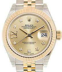 Rolex Lady Datejust 18kt Gold & Steel Gold Automatic 279173CHG17IX_J