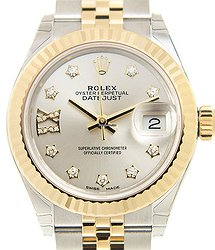 Rolex Lady Datejust 18kt Gold & Steel Silver Automatic 279173SVG17IX_J