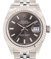 Rolex Lady Datejust 18kt White Gold & Steel Gray Automatic 279174GY_J