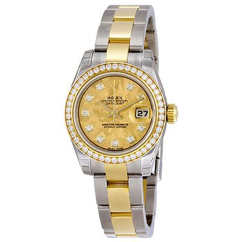 Купить часы Rolex Lady Datejust 26 Yellow Gold Dial Stainless Steel and 18K Yellow Gold Oyster Bracelet Automatic Watch  в ломбарде швейцарских часов