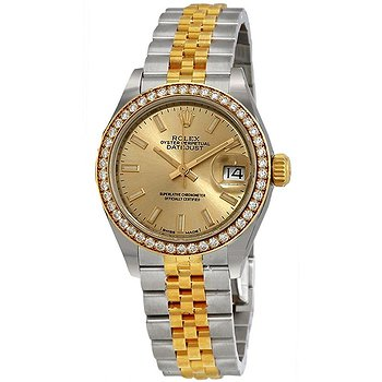 Купить часы Rolex Lady Datejust Automatic Chronometer Diamond Champagne Dial Ladies Watch  в ломбарде швейцарских часов