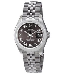 Rolex Lady Datejust Automatic Grey Dial Ladies Jubilee Watch