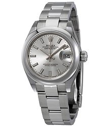 Rolex Lady Datejust Automatic Silver Dial Ladies Oyster Watch