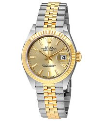 Rolex Lady Datejust Champagne Dial Steel and 18K Yellow Gold Automatic Watch