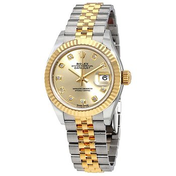 Купить часы Rolex Lady Datejust Champagne Diamond Dial Steel and 18K Yellow Gold Automatic Watch  в ломбарде швейцарских часов