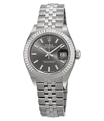 Rolex Lady- Datejust Rhodium Dial Automatic Ladies Jubilee Watch