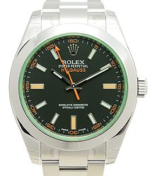 Rolex Milgauss Stainless Steel Black Automatic 116400GV