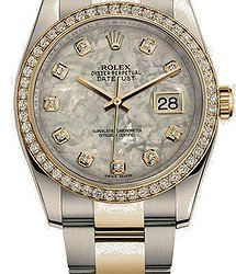 Rolex Oyster Datejust36mm Steel and Yellow Gold