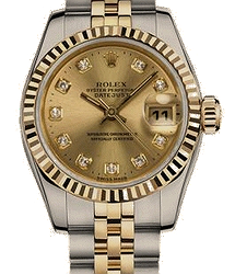 Rolex Oyster Datejust 26mm Steel and Yellow Gold