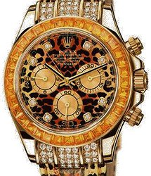 Rolex Oyster Daytona Special Edition Leopard