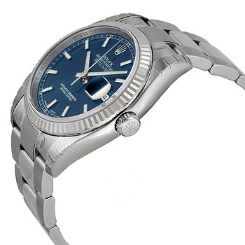 Купить часы Rolex Oyster Perpetual 36 mm Automatic Blue Dial Stainless Steel Bracelet Men's Watch  в ломбарде швейцарских часов