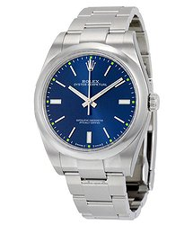 Rolex Oyster Perpetual 39 Automatic Blue Dial Men's Watch