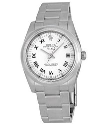 Rolex Oyster Perpetual Air-King White Dial Stainless Steel Bracelet Automatic Men's Watch
