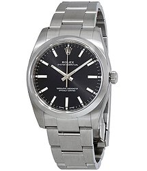 Rolex Oyster Perpetual Automatic Black Dial Ladies Watch