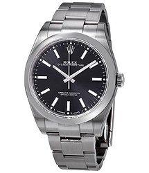 Rolex Oyster Perpetual Black Dial Automatic Men's Watch