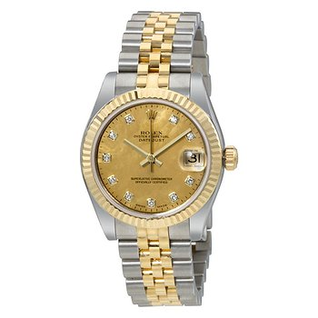 Купить часы Rolex Oyster Perpetual Datejust 18 Carat Yellow Gold Jubilee Automatic Ladies Watch  в ломбарде швейцарских часов