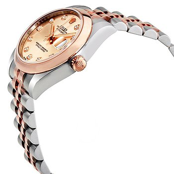 Купить часы Rolex Oyster Perpetual Datejust 31 Pink Diamond Dial Ladies Two Tone Jubilee Watch  в ломбарде швейцарских часов