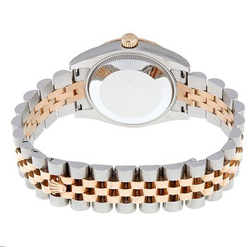 Купить часы Rolex Oyster Perpetual Datejust 31 White Dial Stainless Steel and 18K Everose Gold Jubilee Bracelet Automatic Ladies Watch  в ломбарде швейцарских часов