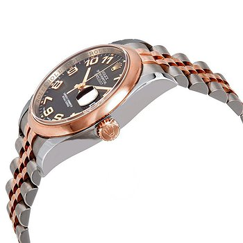 Купить часы Rolex Oyster Perpetual Datejust 36 Black Concentric Circle Dial Stainless Steel and 18K Everose Gold Jubilee Bracelet Automatic Men's Watch  в ломбарде швейцарских часов