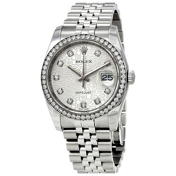 Купить часы Rolex Oyster Perpetual Datejust 36 Silver Dial Stainless Steel Jubilee Bracelet Automatic Men's Watch  в ломбарде швейцарских часов