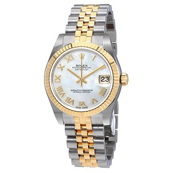 Купить часы Rolex Oyster Perpetual Datejust Mother Of Pearl Dial Automatic Ladies Jubilee Watch  в ломбарде швейцарских часов