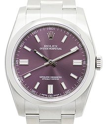 Rolex Oyster Perpetual Stainless Steel Purple Automatic 116000PU