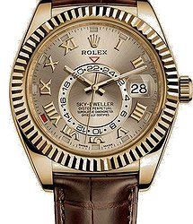 Rolex Sky-Dweller  42 mm, yellow gold
