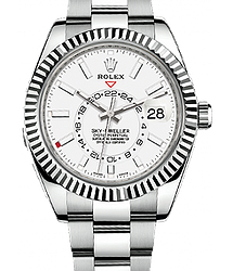 Rolex Sky-Dweller 42 mm Steel and White Gold 326934-0001