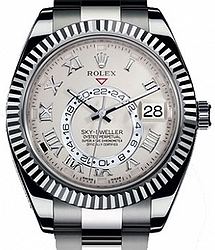 Rolex Sky-Dweller 42mm White Gold 326939 Ivory