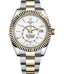 Rolex Sky-Dweller Steel and Yellow Gold 326933