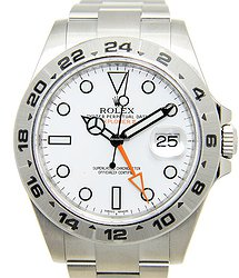 Rolex Stainless Steel White Automatic 216570WT