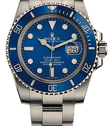 Rolex Submariner Submariner Date 40mm White Gold Ceramic