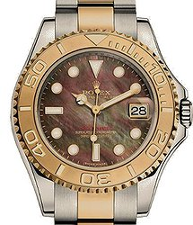 Rolex Yacht-Master 35mm Steel and Yellow Gold