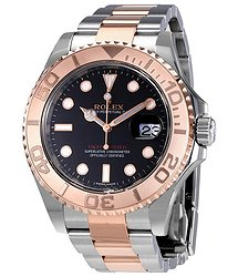 Rolex Yacht-Master 40 Automatic Black Dial Men's Watch