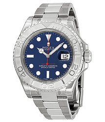 Rolex Yacht-Master 40 Automatic Blue Dial Stainless Steel Oyster Bracelet Men's Watch