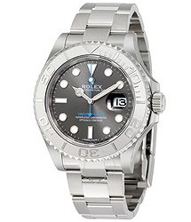 Rolex Yacht-Master 40 Dark Rhodium Dial Steel Oyster Men's Watch