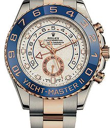 Rolex Yacht-Master II 44 mm, steel and Everose gold