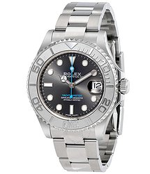 Rolex Yacht-Master Rhodium Dial Steel and Platinum Oyster 37 mm Watch