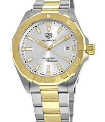 TAG Heuer Aquaracer 300M 41MM Yellow Gold and Stainless Steel Men's Watch WBD1120.BB0930
