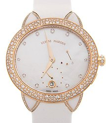 Ulysse Nardin Automatic Diamond White Dial Unisex Watch