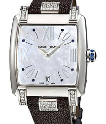 Ulysse Nardin Caprice Mother Of Pearl Dial Automatic Ladies Watch