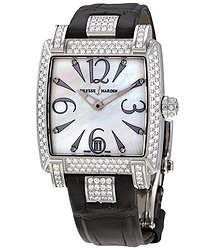 Ulysse Nardin Caprice Mother Of Pearl Dial Ladies Diamond Watch