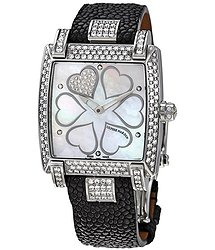 Ulysse Nardin Caprice Mother of Pearl Dial Stingray Strap Automatic Ladies Watch