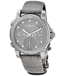 Ulysse Nardin Classic Lady Dual Time Automatic Diamond Ladies Watch